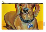 Red Dachshund - Tigger Smiles Carry-all Pouch