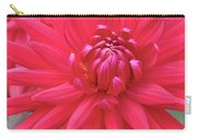 Red Dahlia Delight Carry-all Pouch