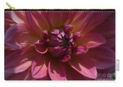 Red Dahlia Macro Carry-all Pouch