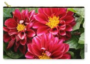 Red Dahlias Carry-all Pouch