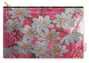 Red Daisies Carry-all Pouch