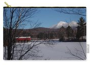 Red Dam And Percy Peaks In Winter Carry-all Pouch
