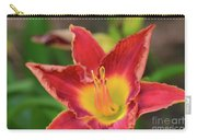 Red Daylily Carry-all Pouch