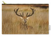 Red Deer Portrait 2 Carry-all Pouch