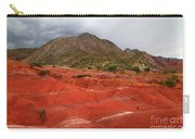 Red Desert Landscape Torotoro National Park Bolivia Carry-all Pouch