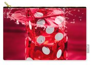 Red Dice Splash Carry-all Pouch
