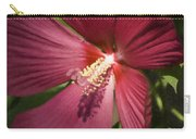 Red Disco Belle Hibiscus Painting Carry-all Pouch
