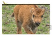 Red Dog Bison In Yellowstone Carry-all Pouch