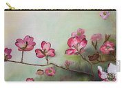 Red Dogwood - Cherokee - Springtime Carry-all Pouch
