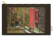 Red Door At The Grist Mill In Fall 2017  Carry-all Pouch