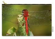 Red Dragon Fly Carry-all Pouch