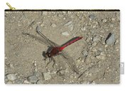 Red Dragonfly Carry-all Pouch