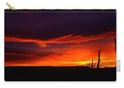 Red Eagle In The Clouds  Carry-all Pouch