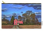 Red Farm House Carry-all Pouch