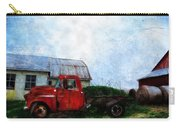 Red Farm Truck Carry-all Pouch