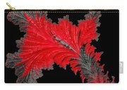 Red Feather - Abstract Carry-all Pouch
