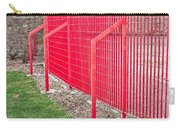 Red Fence Carry-all Pouch