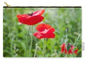 Red Field Poppies Carry-all Pouch
