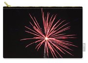 Red Fireworks Carry-all Pouch