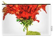 Red Flower 2 Carry-all Pouch