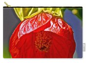 Red Flower At Pilgrim Place  In Claremont-california Carry-all Pouch