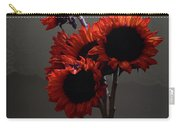 Red Flower Blue Vase Carry-all Pouch