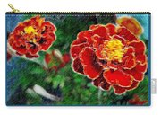 Red Flower In Autumn Carry-all Pouch