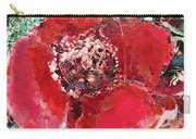 Red Flower, Carry-all Pouch