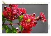 Red Flowers After The Rain Carry-all Pouch