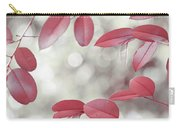 Red Foliage. Silver Light Carry-all Pouch