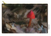 Red Forest Mushroom Carry-all Pouch