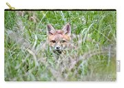 Red Fox Baby Hiding Carry-all Pouch