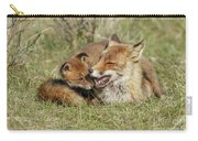Red Fox Cub Love Carry-all Pouch