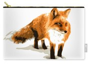Red Fox In Winter Carry-all Pouch