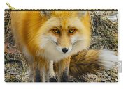 Red Fox Nature Girl Carry-all Pouch