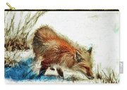 Red Fox Painted Series Carry-all Pouch