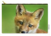 Red Fox Pup Carry-all Pouch