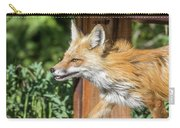 Red Fox Vixen On The Hunt Carry-all Pouch