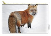 Red Fox Winter Carry-all Pouch
