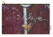 Red Geisha Love 1 Carry-all Pouch