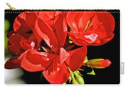 Red Geranium At Pilgrim Place In Claremont-california  Carry-all Pouch