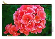 Pink Geraniums At Pilgrim Place In Claremont-california Carry-all Pouch