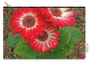 Red Gerbera Daisies Carry-all Pouch