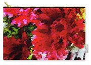 Red Gerbera Daisy Abstract Carry-all Pouch