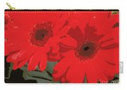 Red Gerberas Carry-all Pouch