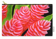 Red Ginger Flowers #235 Carry-all Pouch