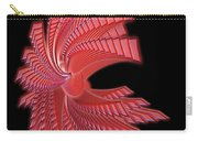 Red Glass Abstract Carry-all Pouch
