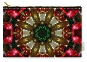 Red Gold Green Kaleidoscope 1 Carry-all Pouch