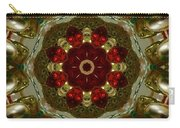Red Gold Kaleidoscope 2 Carry-all Pouch