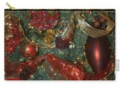Red Gold Tree No 3 Fashions For Evergreens Event Hotel Roanoke 2009 Carry-all Pouch